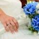 Голубой свадебный букет: выбор, дизайн и сочетание с другими оттенками