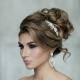 Идеи для свадебных причесок на средние волосы без фаты