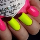 Как красиво оформить ногти в кислотных цветах?
