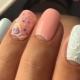 Как сделать объемный дизайн ногтей?