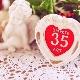 Какое название у годовщины свадьбы через 35 лет и что на нее дарят?