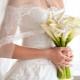 Красивые свадебные букеты невесты из калл