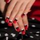 Красно-черный маникюр – воплощение яркости и элегантности