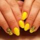 Лимонный маникюр: особенности цвета и стильные идеи дизайна