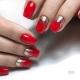 Маникюр в красных тонах: дизайн и цветовые сочетания