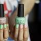 Модные тенденции для создания розового-зеленого маникюра