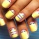 Модные тенденции маникюра в желтых тонах