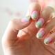 Мятно-розовый маникюр – нежный и необычный дизайн ногтей