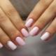Нежно-розовый маникюр – воплощение женственности и очарования