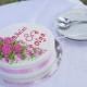 Одноярусный свадебный торт – лучшие идеи и советы по выбору