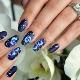 Орхидеи на ногтях: идеи маникюра и модные тенденции