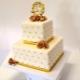 Оригинальные торты на золотую свадьбу