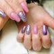 Розово-фиолетовый маникюр – эстетичность и гармония