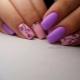 Розово-сиреневый маникюр – стильные и яркие решения