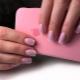 Розовый френч на ногтях: универсальность и изысканность