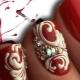 Создание вензелей на ногтях: инструкция пошагово и полезные рекомендации