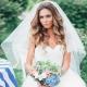 Свадебные прически с фатой на длинные волосы: многообразие вариантов и примеры их выполнения