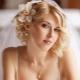 Варианты красивых свадебных причесок на каре