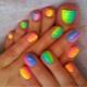 Яркий педикюр – оригинальные идеи оформления ногтей