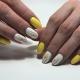 Желто-белый маникюр: лучшие идеи дизайна и декора