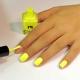 Желтый маникюр: интересные идеи и модные тенденции