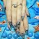 Аквариумный дизайн ногтей: особенности и рекомендации по выполнению