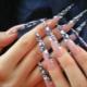 Длинные наращенные ногти: особенности, дизайн и примеры