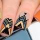 Геометрия гель-лаком на ногтях: идеи дизайна и пошаговое создание