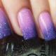 Градиентный маникюр с блестками на ногтях