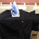 Как правильно разгладить куртку?