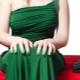 Как выбрать маникюр под зеленое платье?