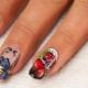 Особенности акварельной росписи ногтей