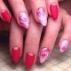 Розы на ногтях: стили оформления и модные тенденции