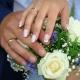 Свадебный маникюр с помощью гель-лака