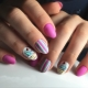 Идеи маникюра на короткие овальные ногти