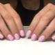 Варианты однотонного маникюра на коротких ногтях