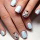 Идеи маникюра «геометрия» на короткие ногти