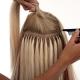 Капсульное наращивание волос: особенности и разновидности процедуры