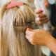 Наращивание волос на капсулах: особенности, схема и технология