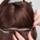 Особенности и методика наращивания волос на косичку