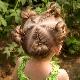 Прически для девочек 2-3 лет на короткие волосы