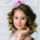 Прически для девочек с волосами средней длины