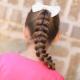 Способы плетения косичек девочкам: простые прически