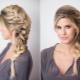 Варианты плетения кос из волос средней длины