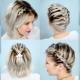 Варианты плетения косичек для девушек с короткими волосами
