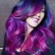 Фиолетовые краски для волос: кому подходят и как их использовать?