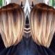 Колорирование на средние волосы: особенности и выбор оттенков