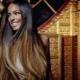 Омбре на черные волосы: выбор цвета и технология окрашивания