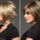 Стрижка «американка» на средние волосы
