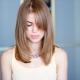 Стрижка «лесенка» на средние волосы
